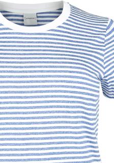 Junarose - Nida - T-skjorter - hvit-blå