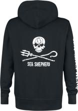 Sea Shepherd - Jolly Roger -Hettejakke - svart