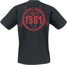 Slayer - Live Est. 1981 -T-skjorte - svart