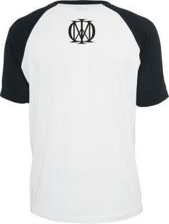 Dream Theater - Distance Over Time -T-skjorte - hvit-svart