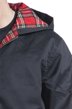 Brandit - Lord Cantebury med hette -Bomber jakke - svart