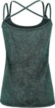 Harry Potter - Slytherin Crest -Topp - mørkegrønn