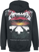 Metallica - Master Of Puppets Faded -Hettejakke - svart