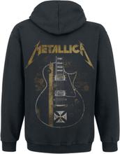 Metallica - Hetfield Iron Cross Guitar -Hettejakke - svart