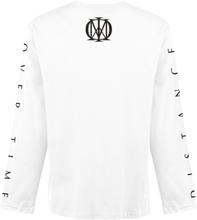 Dream Theater - Distance Over Time Album Cover -Langermet skjorte - hvit