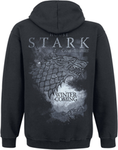 Game Of Thrones - House Stark -Hettejakke - svart