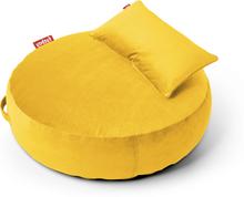 Pupillow Velvet Sittpuff Maize yellow 120 x 30 cm