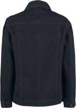Noisy May - Ole Black Denim Jacket -Dongerijakke - svart