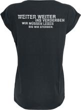 Rammstein - Ins Verderben -T-skjorte - svart
