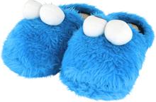 Sesam Stasjon - Cookie Monster -Tøffel - kongeblå