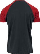 The Flash - Distressed Logo -T-skjorte - svart-rød