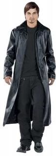 Tribal Coat - Tribal Coat -Frakk i kunstskinn - svart