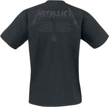 Metallica - M - Black Album -T-skjorte - svart