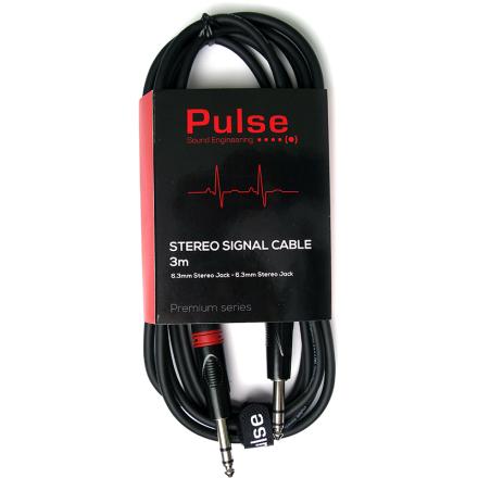 Pulse stereo jack-til-jack-kabel 3meter