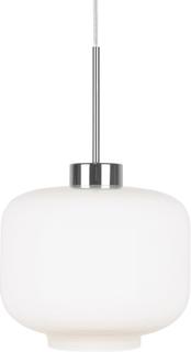 Globen Lighting - Ritz Pendel ø25 cm, Hvit/Krom