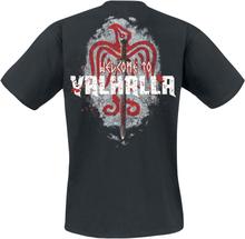 Vikings - Welcome To Valhalla -T-skjorte - svart