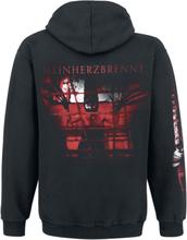 Rammstein - Mein Herz Brennt - Spraylogo -Hettegenser - svart