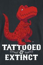 Goodie Two Sleeves - Tattooed & Extinct -T-skjorte - svart