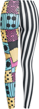 The Nightmare Before Christmas - Jack Skellington & Sally -Leggings - flerfarget