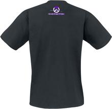 Overwatch - Sombra - Apagando Las Luces -T-skjorte - svart