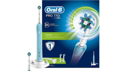 Oral-B PRO 770 Cross Action. 10 stk. på lager