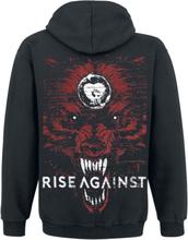 Rise Against - New Wolf -Hettejakke - svart