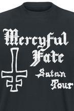 Mercyful Fate - Satan Tour 1982 -T-skjorte - svart