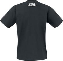 Super Mario - Yoshi - Ride -T-skjorte - svart