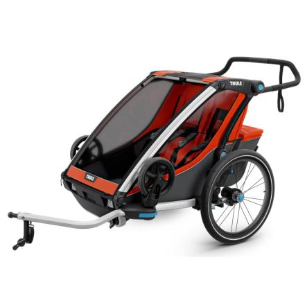 Thule Chariot Cross2 (2018) Cykel- & Barnvagn Orange OneSize