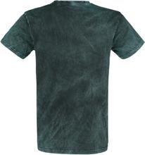 Outer Vision - Burned Tattoo -T-skjorte - grønn, svart