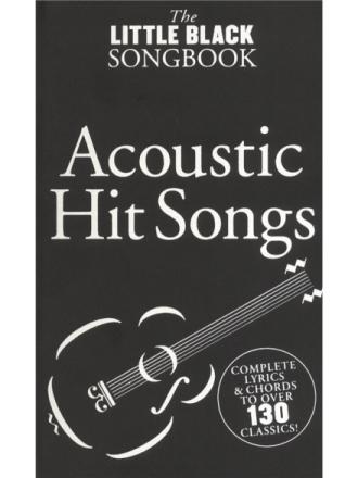 TheLittleBlackSongbook:AcousticHitSongs gitar-lærebok