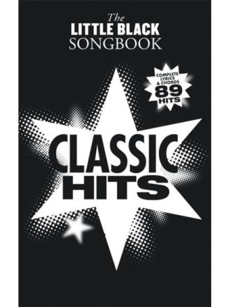 TheLittleBlackSongbook:ClassicHits gitar-lærebok
