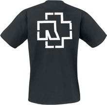 Rammstein - Weiße Balken -T-skjorte - svart