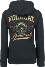 Volbeat - Rise From Denmark -Hettejakke - svart