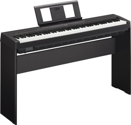 Yamaha P-45 B sort el-piano med L85 ben