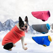 Haustier-Hundevlies-Winter-warme Weste-Mantel-Haustier-Kleidung für Herbst-Winter