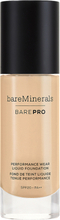 bareMinerals barePRO Performance Wear Liquid Foundation SPF 20, 10 Cool Beige 30 ml bareMinerals Foundation