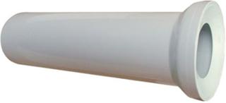 400mm vit wc wc avloppsvatten rak pannaanslutning jordrör 110mm