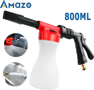 car washer Foam nozzle Car Washing Foam Gun Car Cleaning Washing Snow Foamer Lance Car Water Soap Shampoo Sprayer Spray Foam Gun