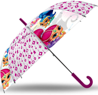 Rosa Shimmer and Shine Paraply 96 cm