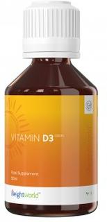 Vitamin D3 – D vitamin tilskudd - Vitamin D tilskudd - Vitamin D3 - Vegansk D vitamin - D vitamin Norge - Vitamin drikke