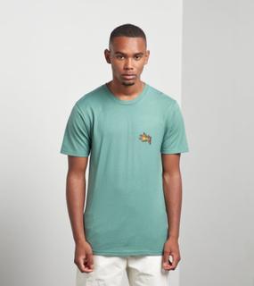 Stussy Fireball T-skjorta, Grön