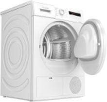 Bosch Serie | 4 WTH8307LSN - Tørremaskine - fritstående - bredde: 59.8 cm - dybde: 63.6 cm - højde: 84.2 cm - frontbetjening