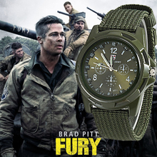 2020 Men Nylon band Military watch Gemius Army watch High Quality Quartz Movement Men sports watch Casual wristwatches