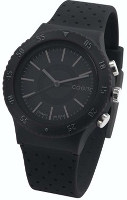 COGITO Smartwatch POP 3.0 Svart med Svart Silicone