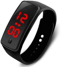 Fashion 13 color Men women red led watches Silicone Women Bracelet led watch LED Digital Girls Sports Watch relogio masculino