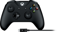 Kontroler bezprzewodowy Xbox + kabel dla Windows