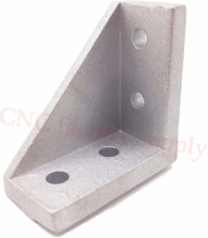 2040 corner fitting angle aluminum 20x40 L connector bracket fastener match use 2040 industrial aluminum profile 2020 2028