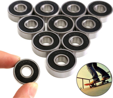 10PCS/Set 608RS/608-2RS/693ZZ Bearing ABEC-5 Skateboard Scooter 608 2RS Ball Bearing Miniature 693ZZ Roller Ball Bearings Kit