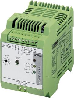 Industrielt USV-anlæg (DIN rail) Phoenix Contact MINI-DC-UPS/24DC/2